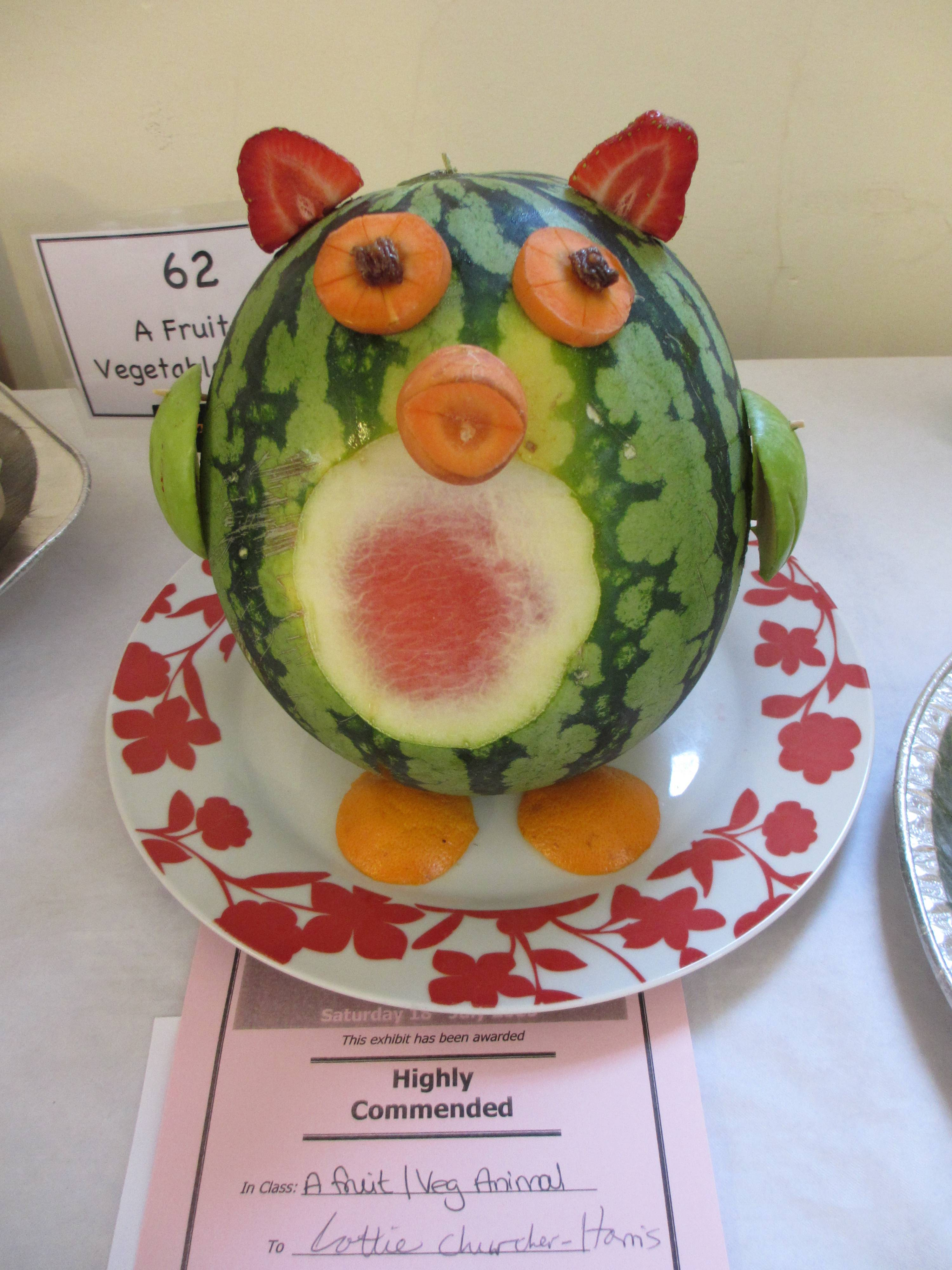 Animal made from fruit / veg - Junior